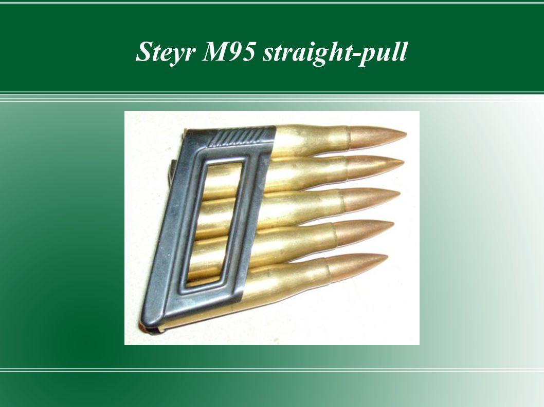 Steyr M95 straight-pull