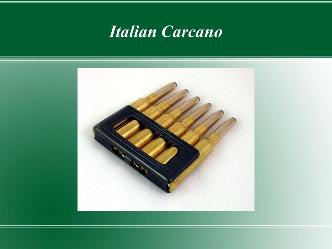 Italian Carcano