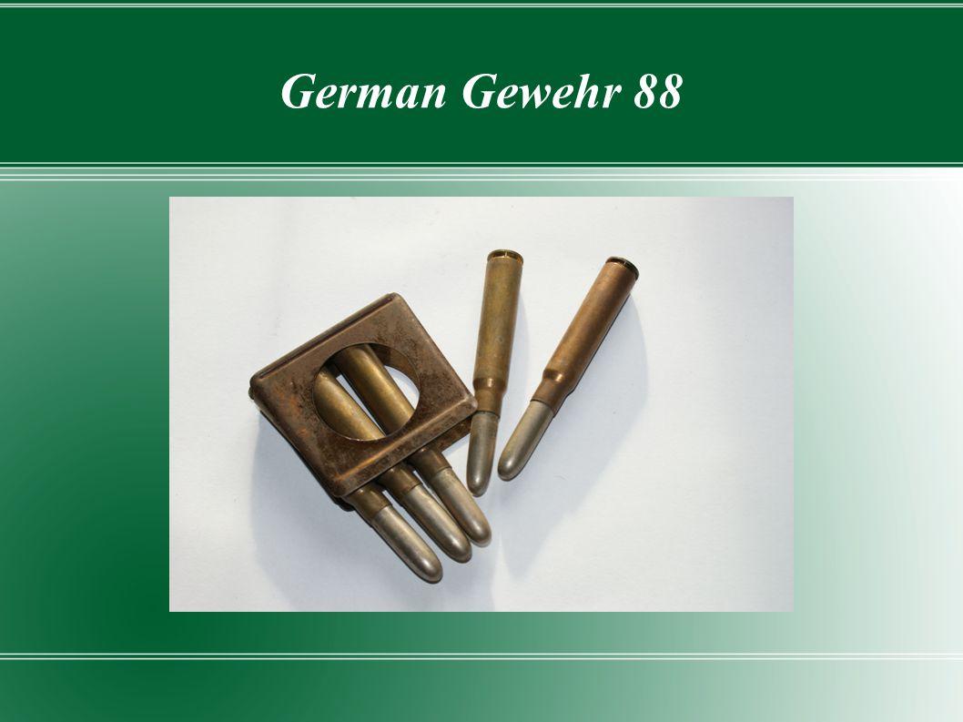 German Gewehr 88