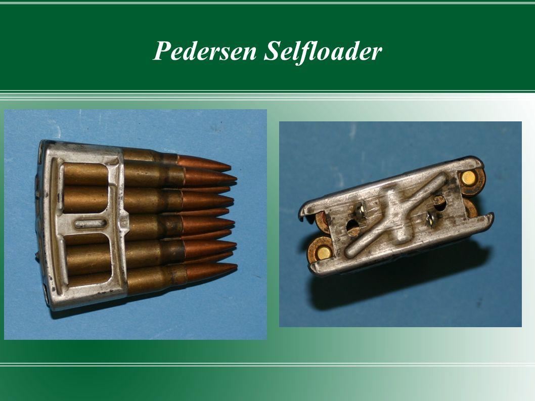 Pedersen Selfloader