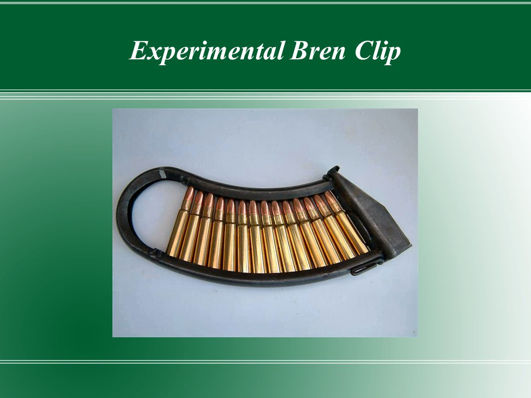 Experimental Bren Clip