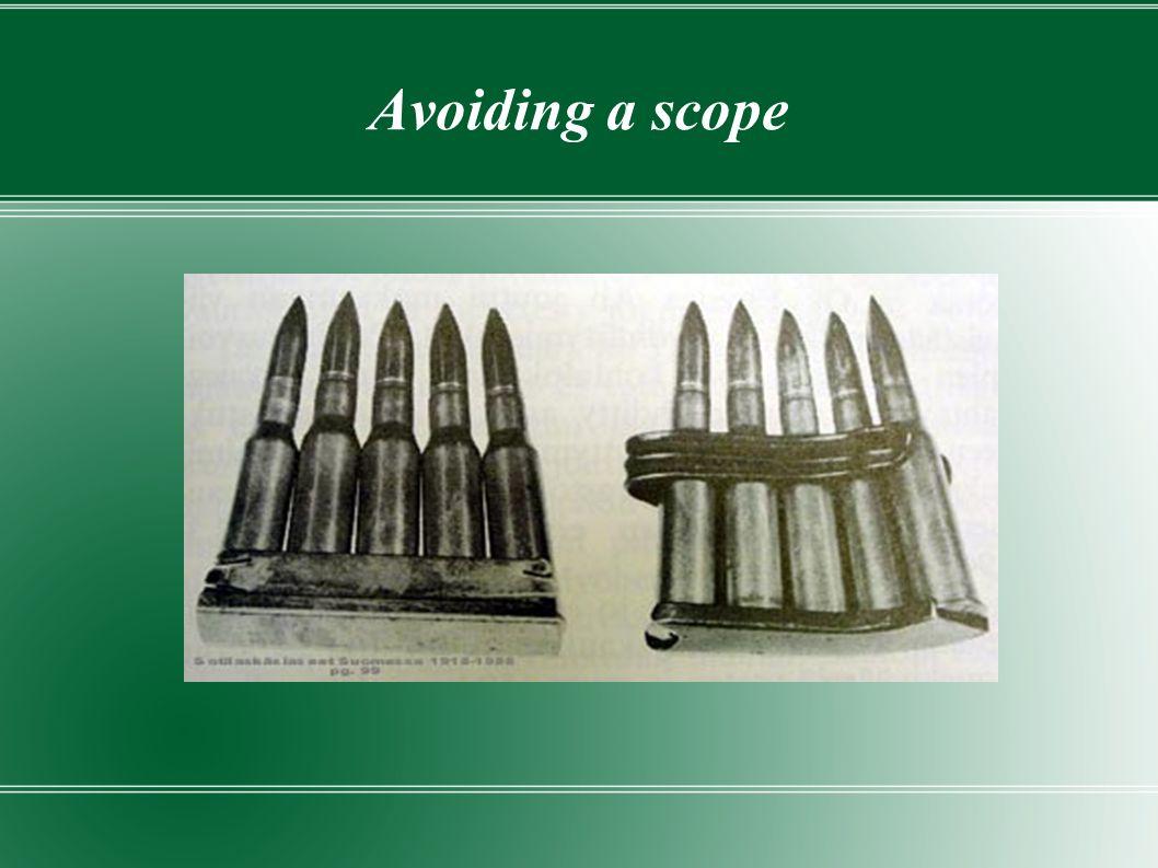 Avoiding a scope
