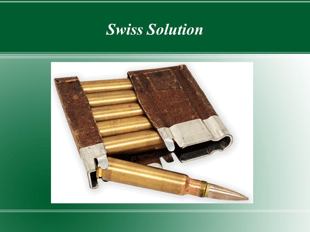 Swiss Solution