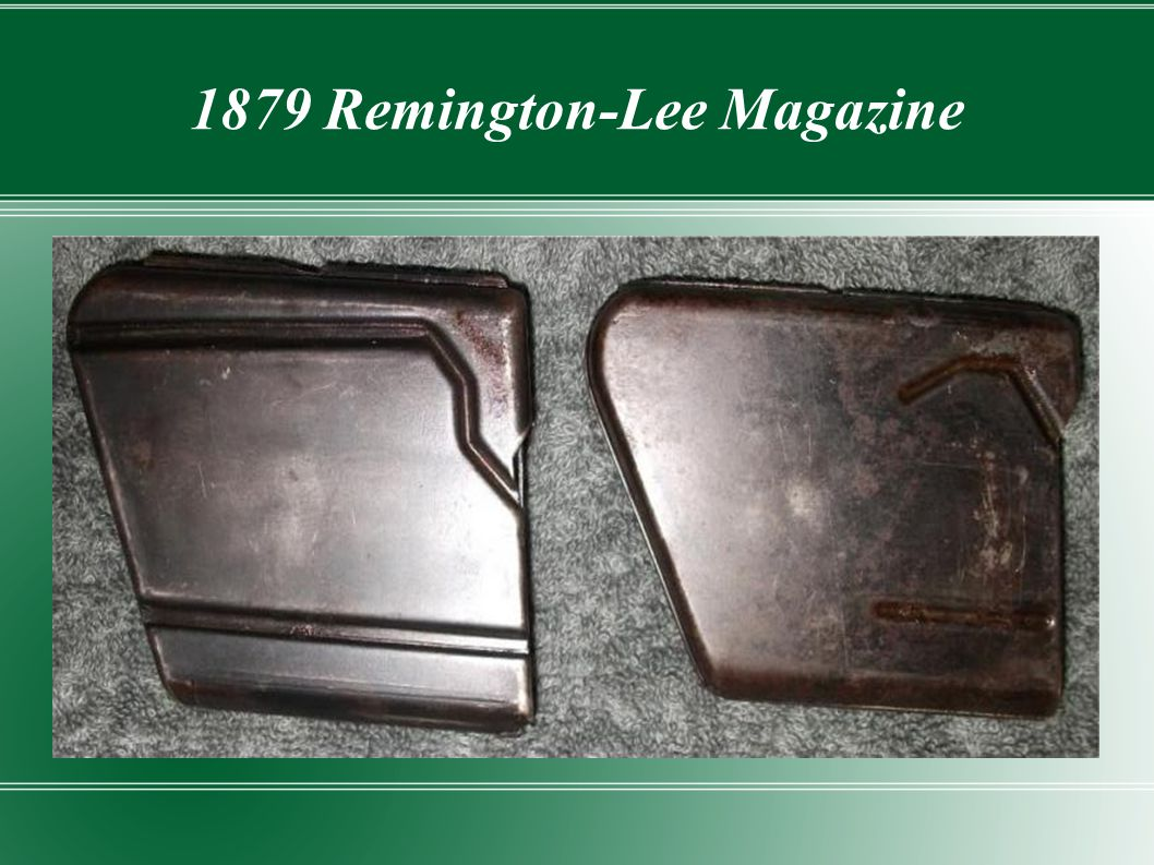 1879 Remington-Lee Magazine