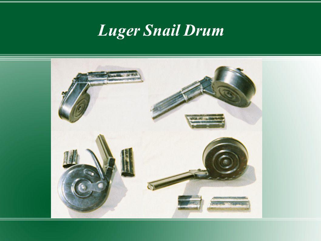 Luger Snail Drum
