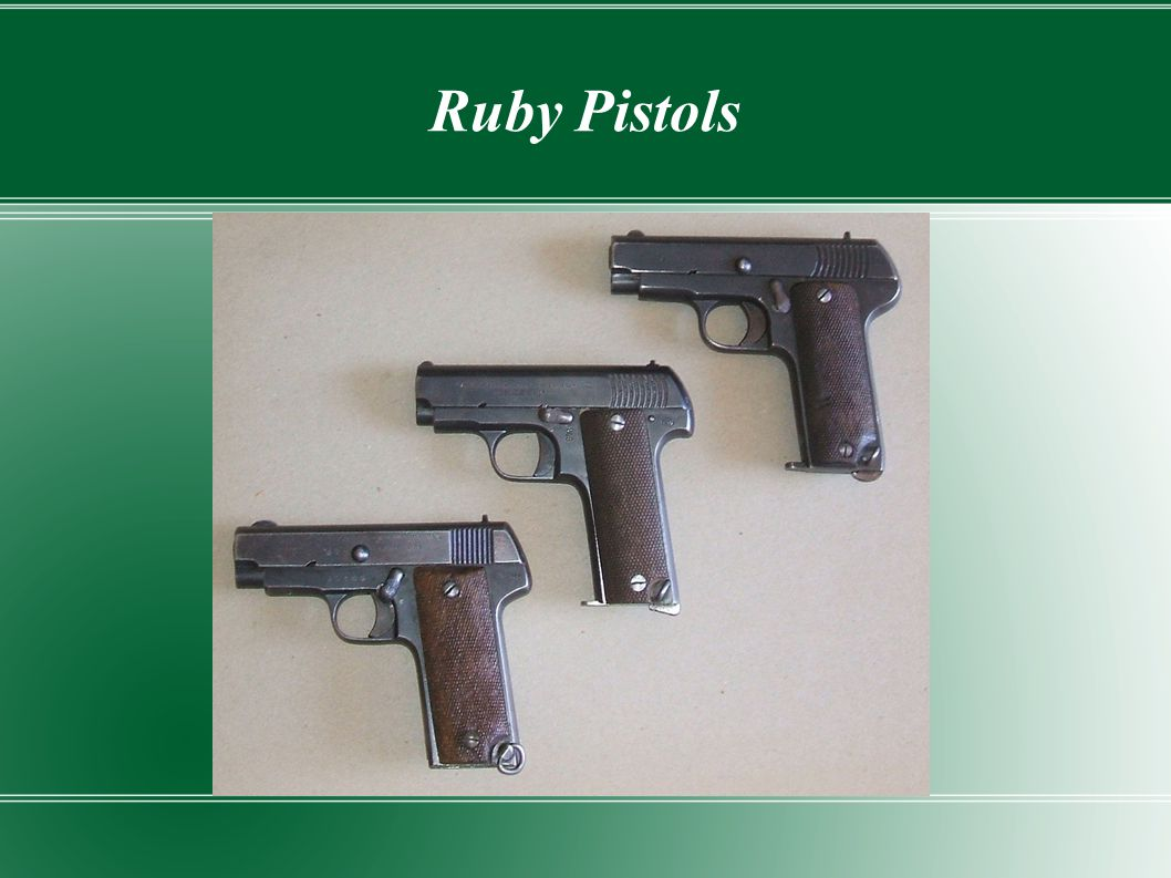 Ruby Pistols