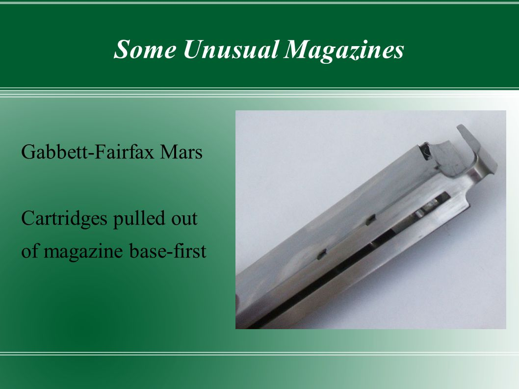Some Unusual Magazines