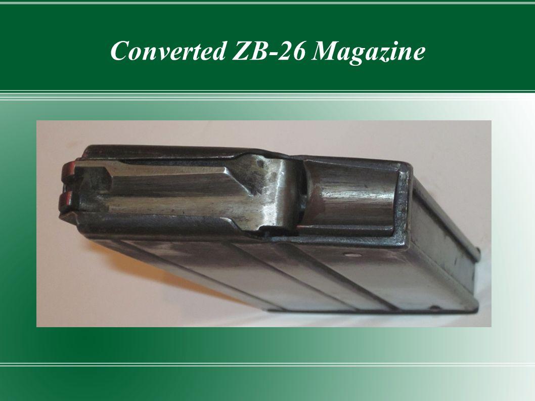 Converted ZB-26 Magazine