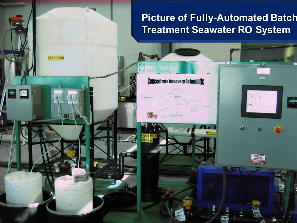 Picture of Fully-Automated Batch Treatment Seawater RO System