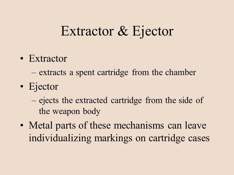 Extractor & Ejector Extractor Ejector