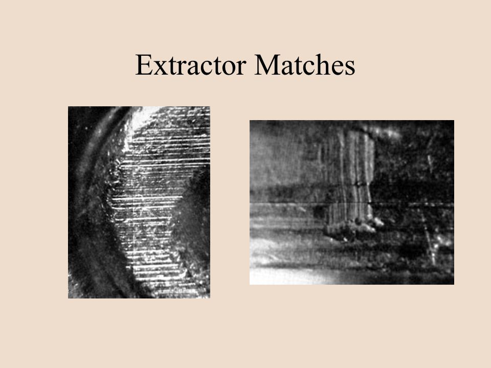 Extractor Matches