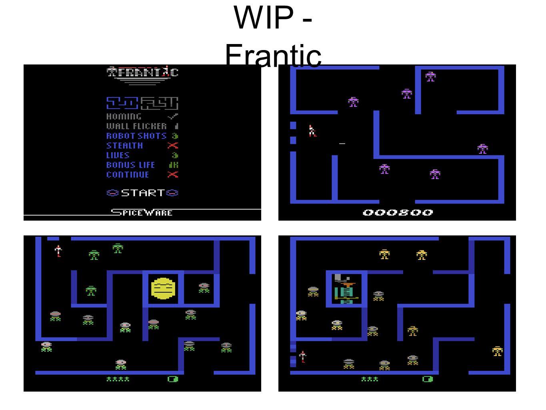 WIP - Frantic