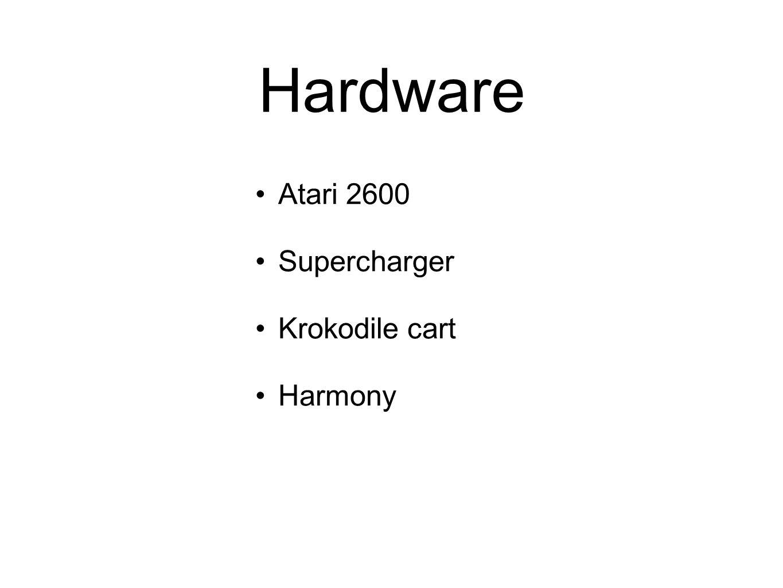 Hardware Atari 2600 Supercharger Krokodile cart Harmony