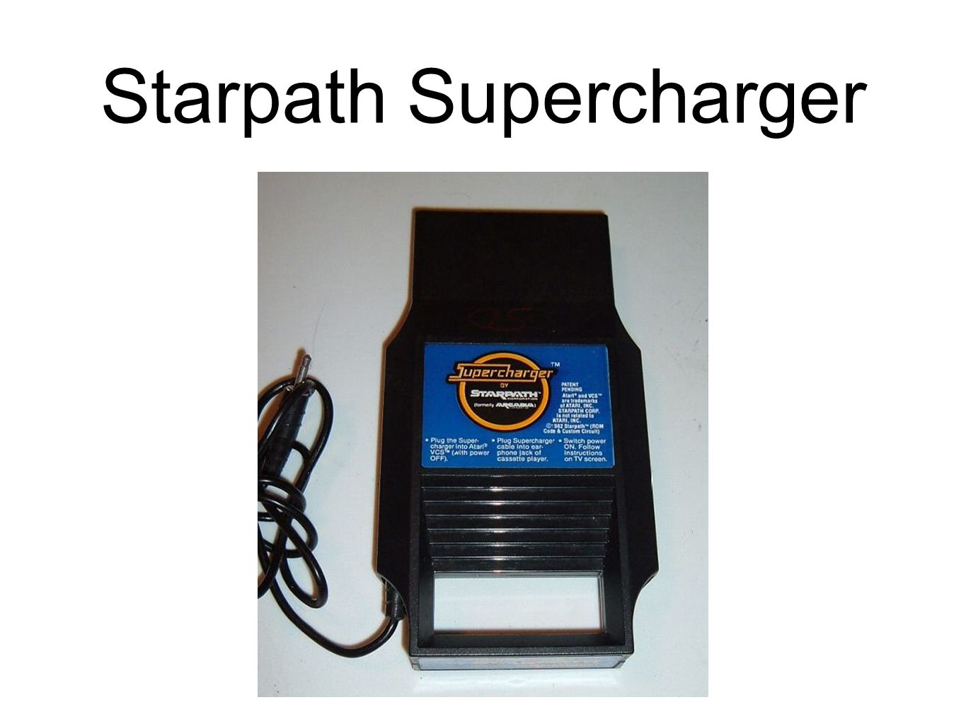 Starpath Supercharger