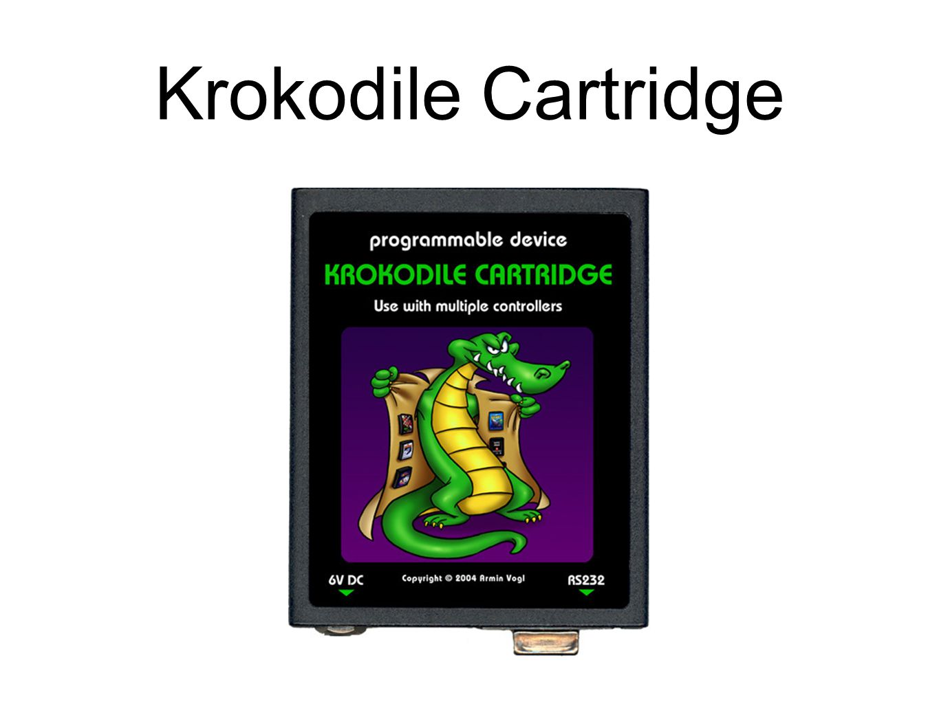 Krokodile Cartridge
