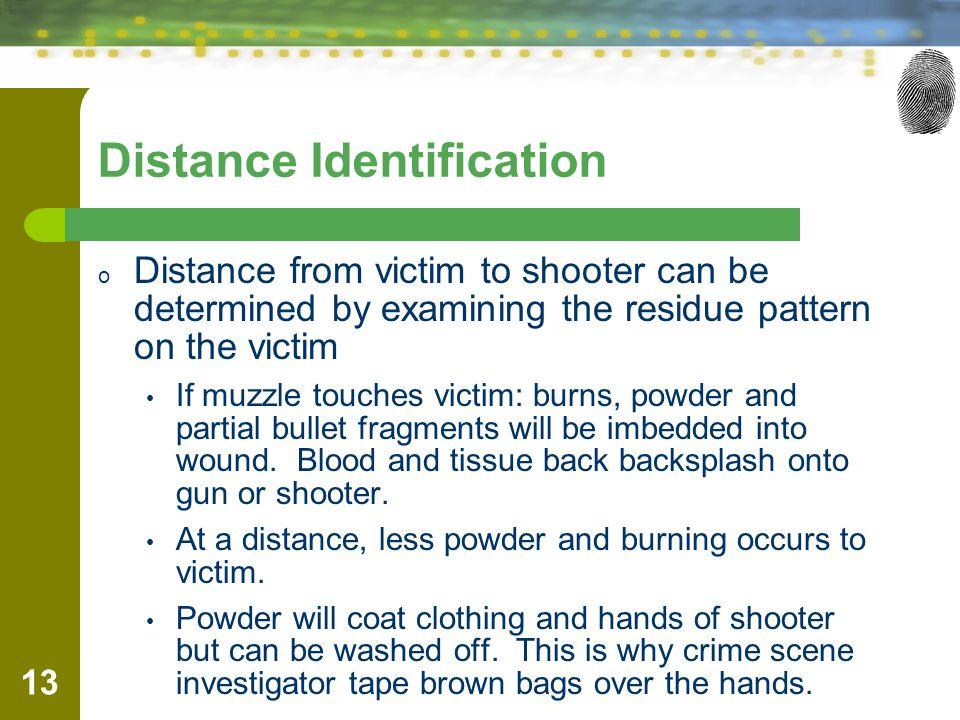 Distance Identification