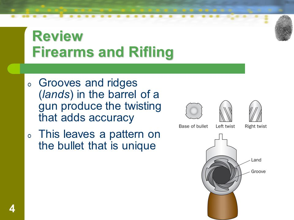 Review Firearms and Rifling