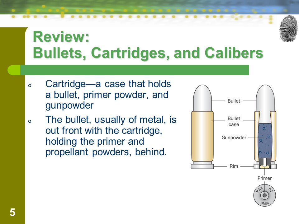 Review: Bullets, Cartridges, and Calibers