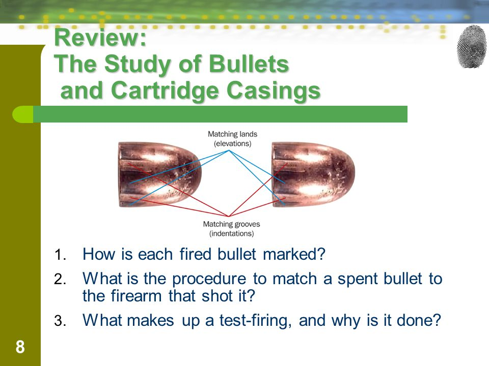 Review: The Study of Bullets and Cartridge Casings