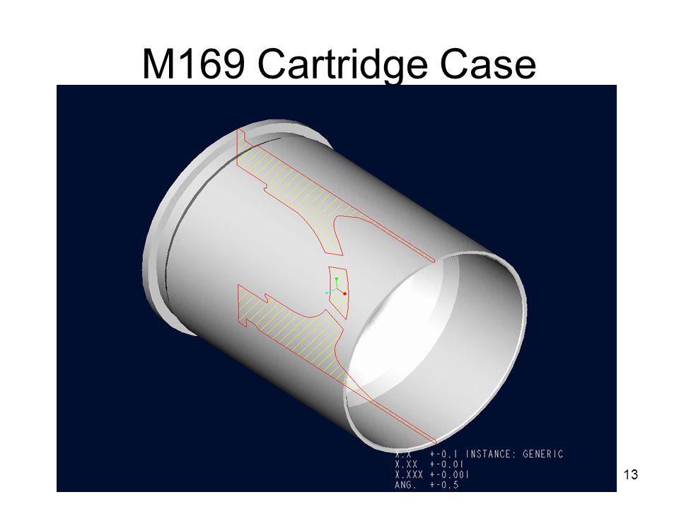 M169 Cartridge Case