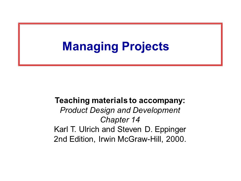 product design and development ulrich pdf download