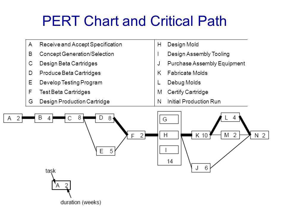 PERT Chart and Critical Path