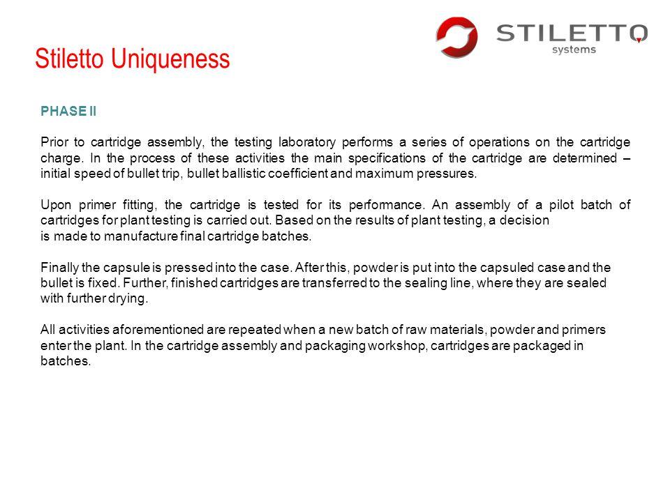 Stiletto Uniqueness PHASE II