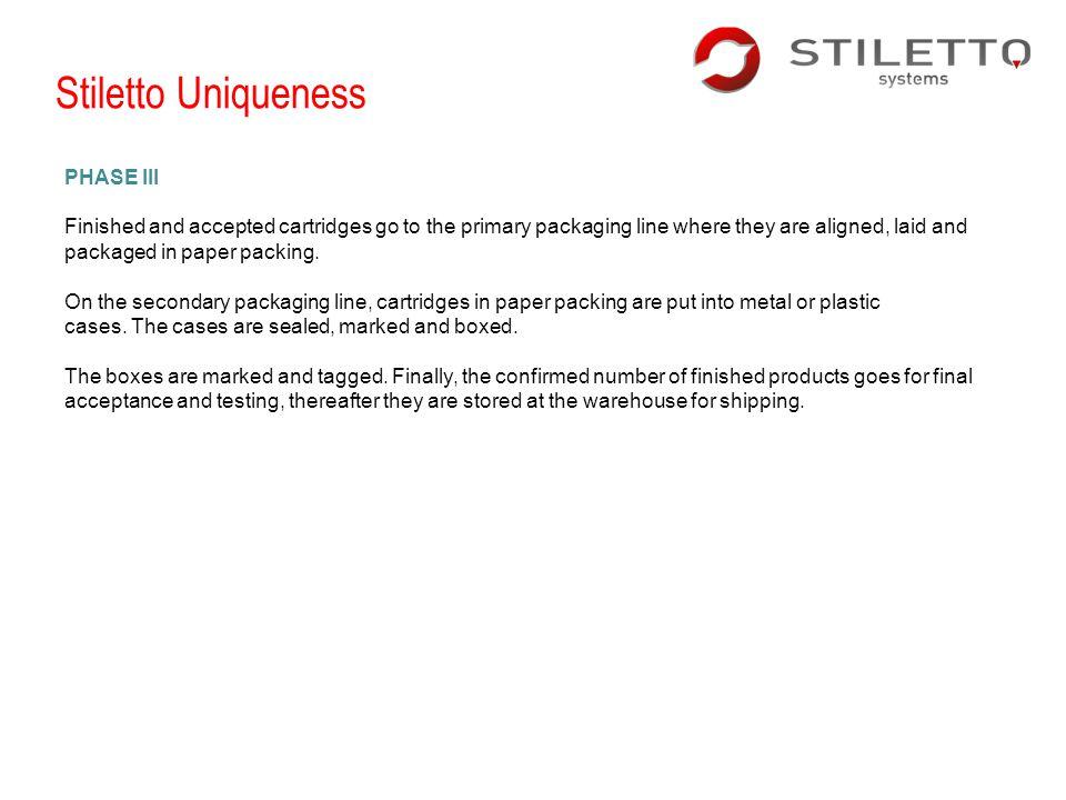 Stiletto Uniqueness PHASE III