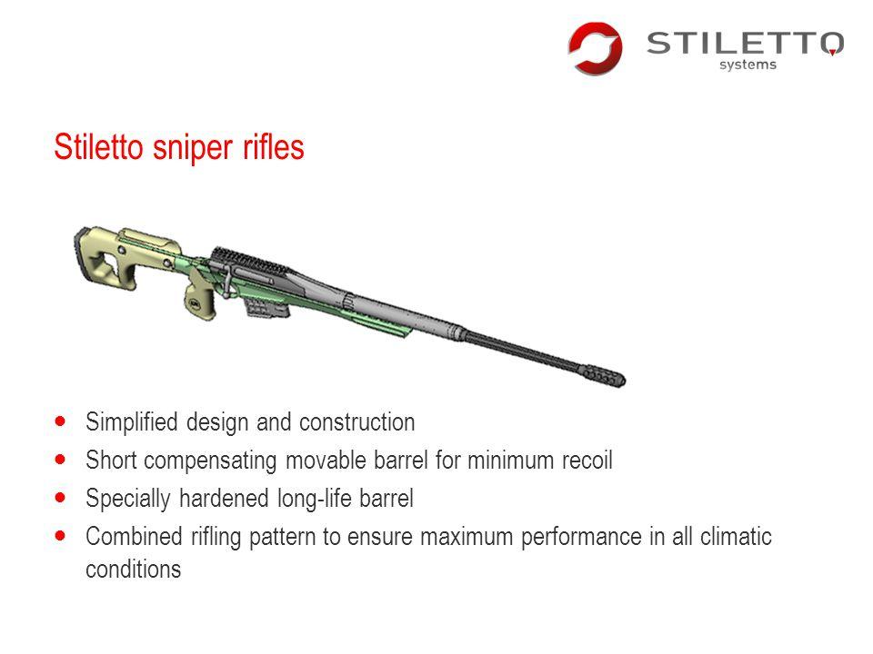 Stiletto sniper rifles