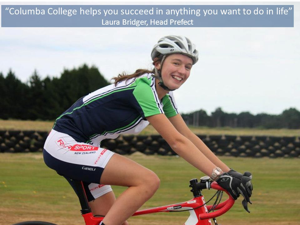 Columba College helps you succeed in anything you want to do in life