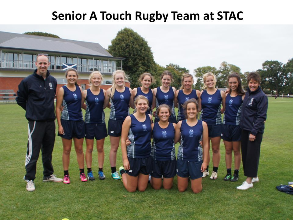 Senior A Touch Rugby Team at STAC