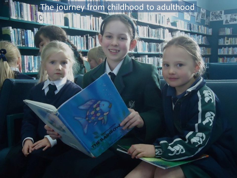 The journey from childhood to adulthood