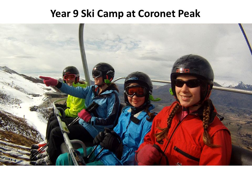 Year 9 Ski Camp at Coronet Peak