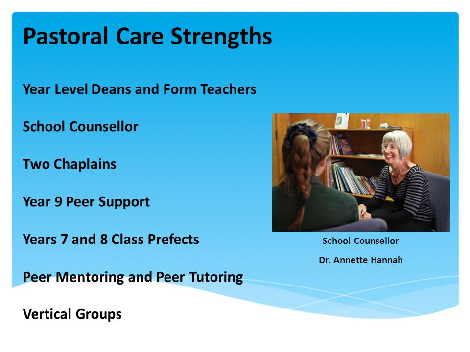 Pastoral Care Strengths