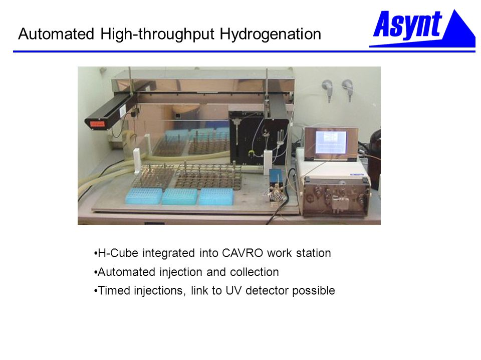 Automated High-throughput Hydrogenation