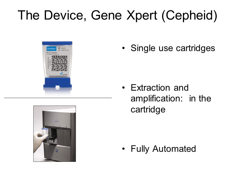The Device, Gene Xpert (Cepheid)