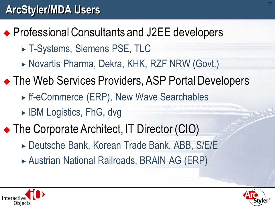 Professional Consultants and J2EE developers