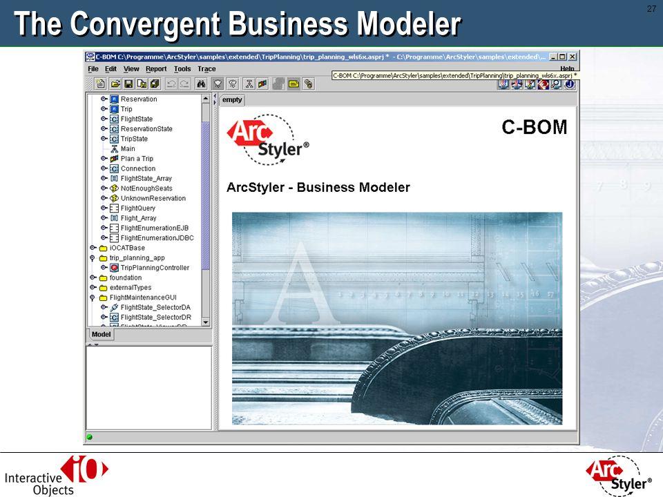 The Convergent Business Modeler