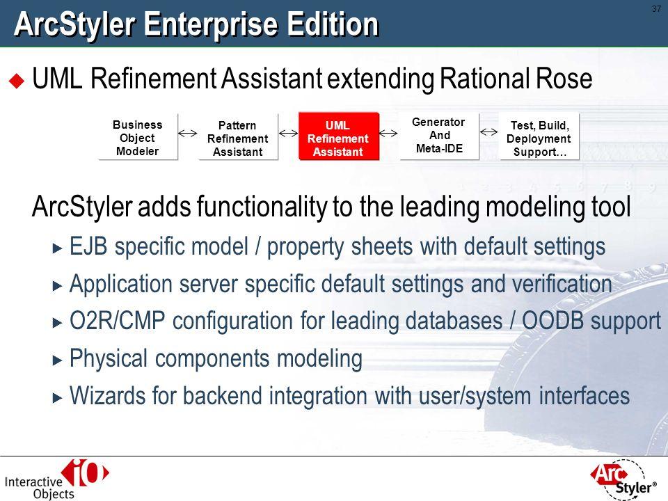 ArcStyler Enterprise Edition