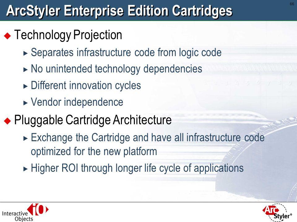 ArcStyler Enterprise Edition Cartridges