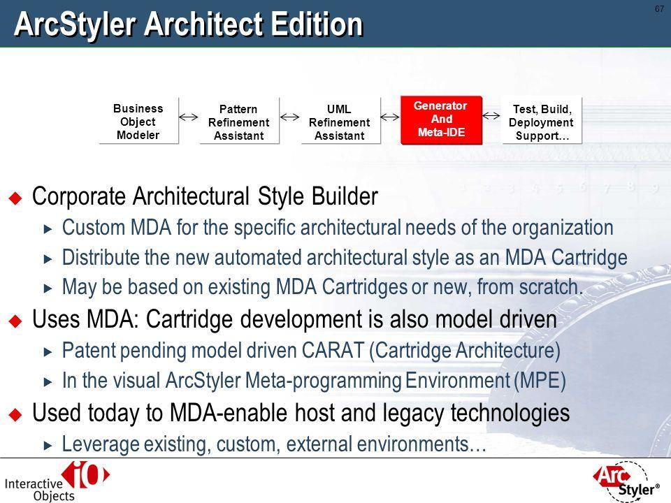ArcStyler Architect Edition