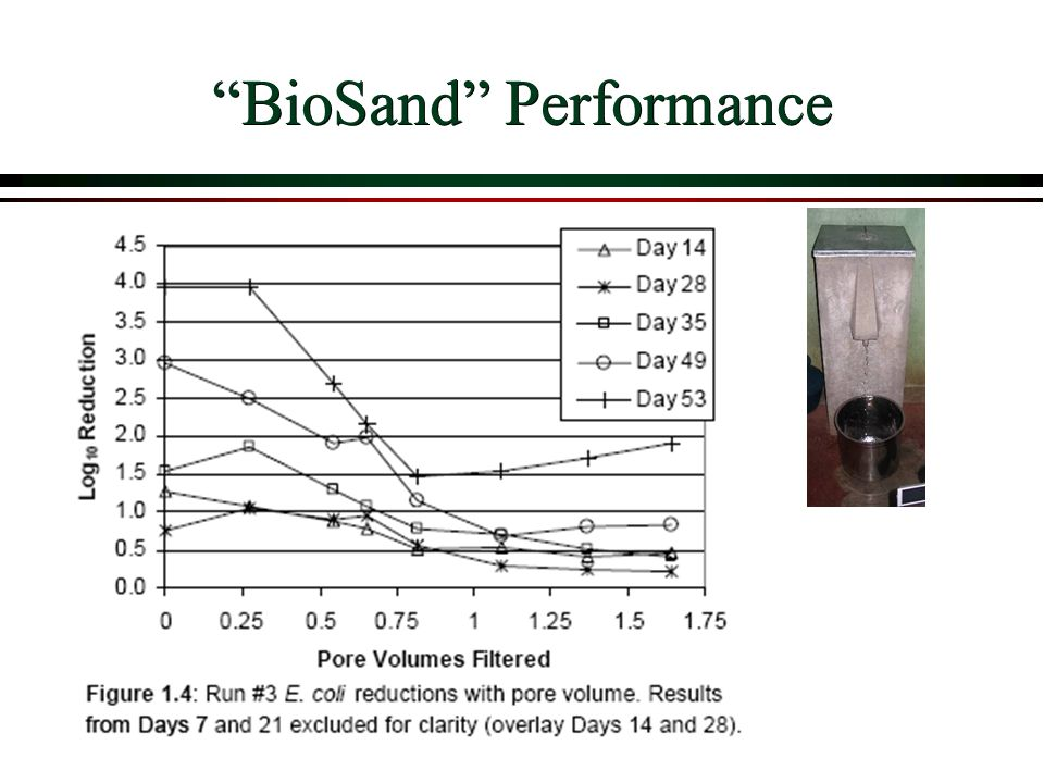 BioSand Performance