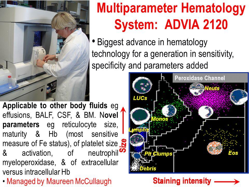 Multiparameter Hematology System: ADVIA 2120