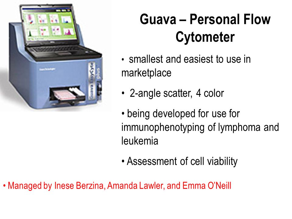 Guava – Personal Flow Cytometer