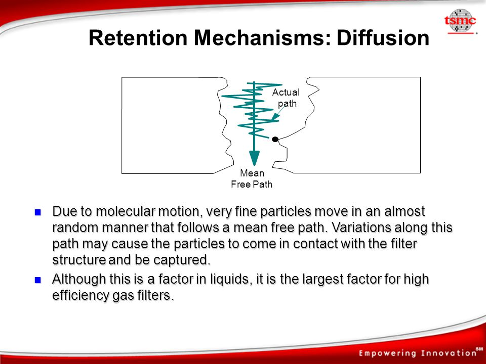 Retention Mechanisms: Diffusion