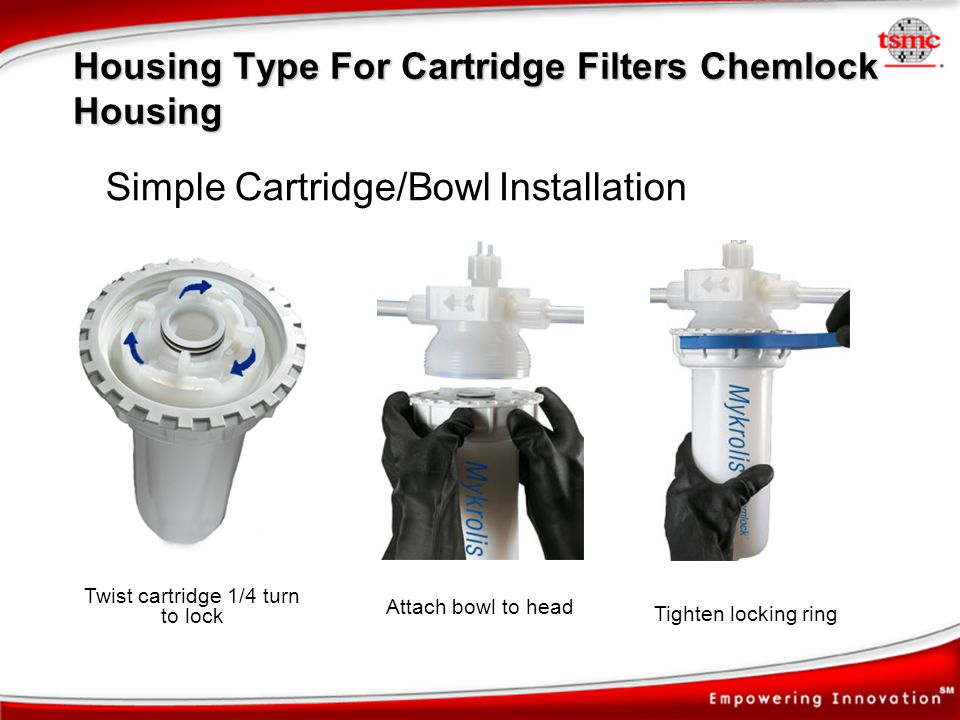 Housing Type For Cartridge Filters Chemlock Housing