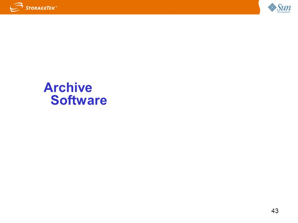 Archive Software