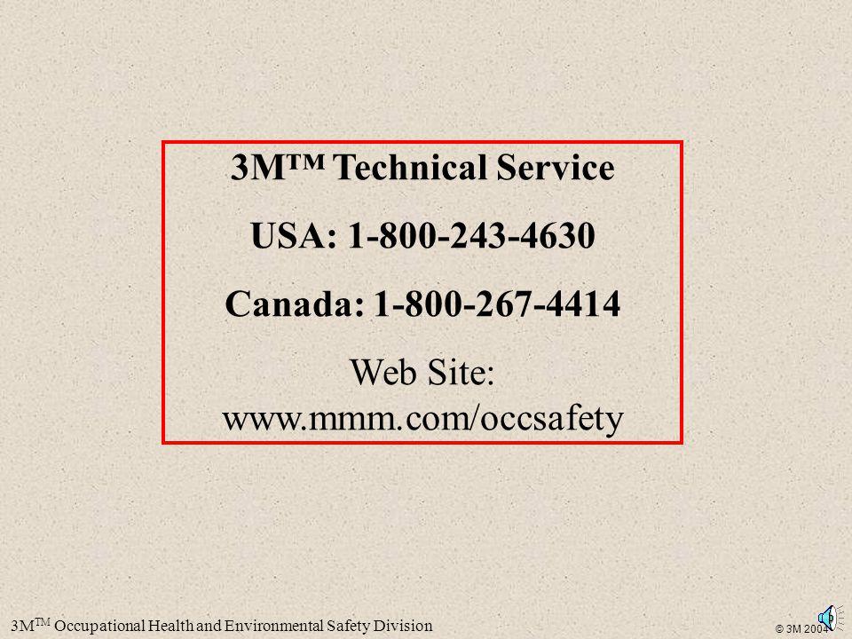 Web Site: www.mmm.com/occsafety
