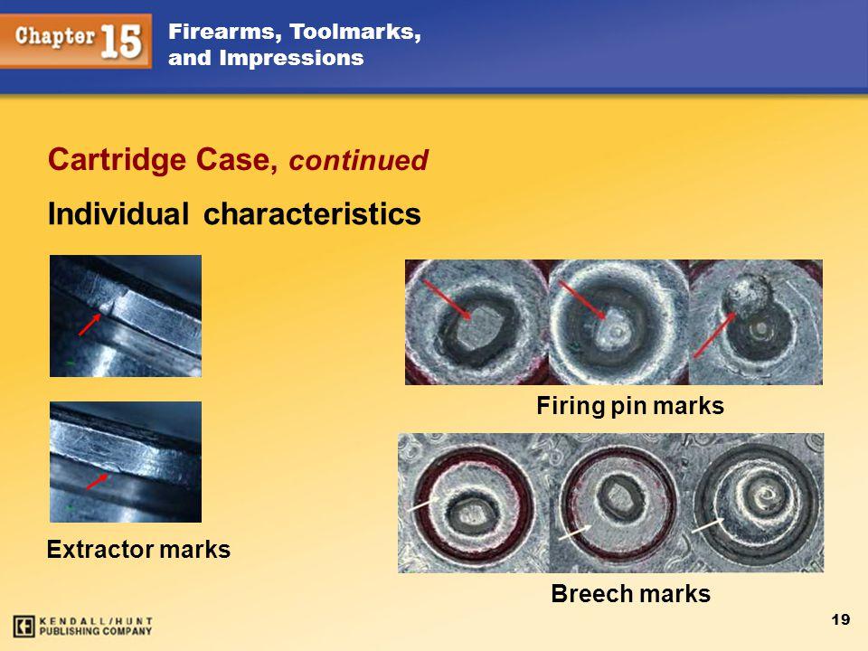 Cartridge Case, continued