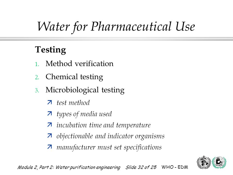Testing Method verification Chemical testing Microbiological testing